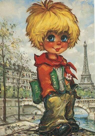 Poulbot parisien