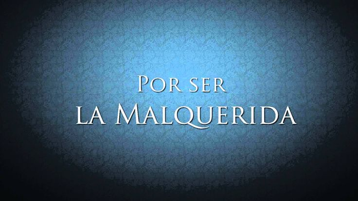 """""""De nada sirve ser buena."""" La Malquerida - Cristian Castro, Jesús Navarro y Melissa   Letra Officia..."""