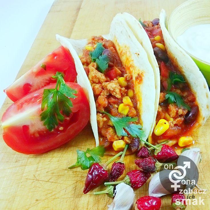 tortilla z chilli con carne | zobacz ich smak