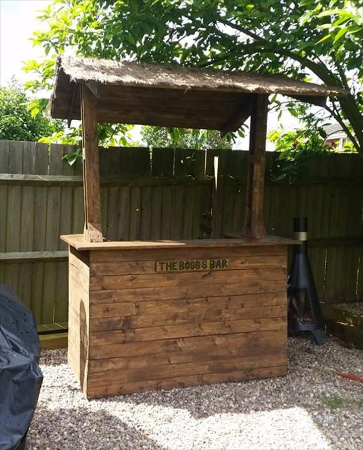 pallet bar for outdoor 20 unique ideas to use the pallets wood pallet furniture