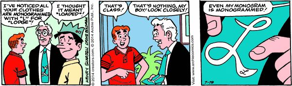 Archie Cartoon for Jul/19/2014