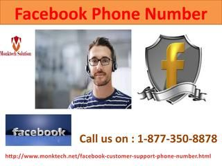 Secure Your FB Profile Picture with Facebook Phone Number 1-877-350-8878 Do you want to take account break for sometime from Facebook? If yes, then you can temporary deactivate your Facebook account. Are you unable to temporary deactivating your Facebook account? Get help from our technicians who are available round the clock to uproot your all Facebook related doubts by calling at Facebook Phone Number 1-877-350-8878. For more visit us our website…
