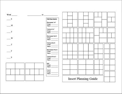#papercraft Free #ProjectLife Planner Pages Guide