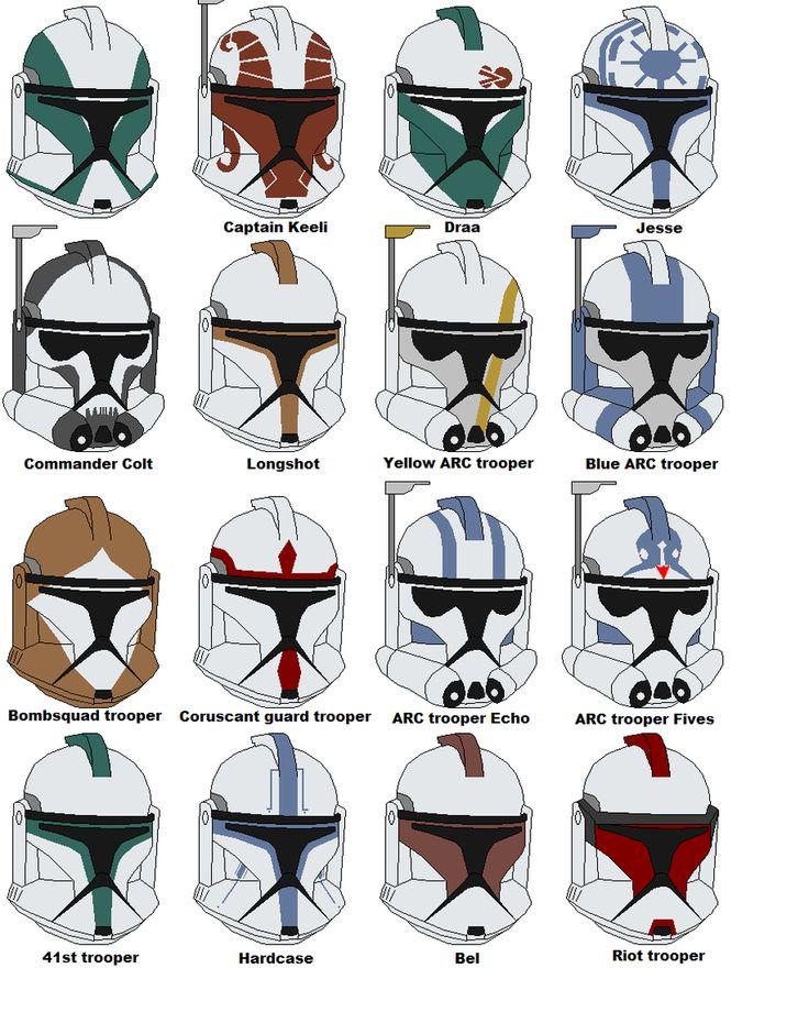 clone trooper helmet - Google Search