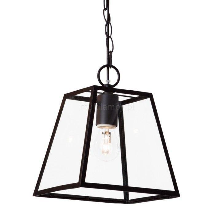 Spot-Light Amata lampa wisząca 1-punktowa czarna 1370104 - Multilampy.pl