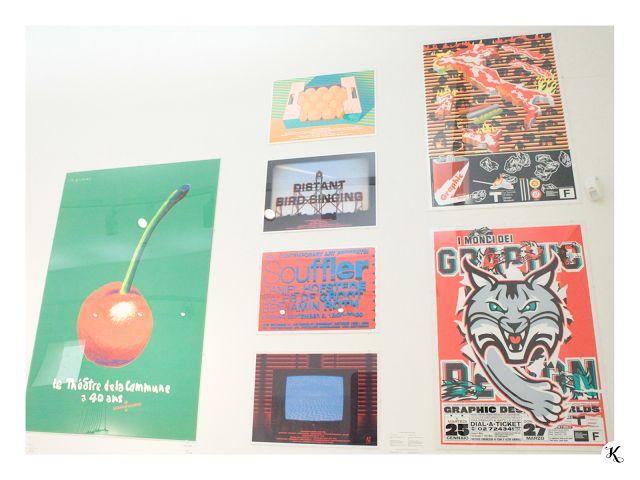 Knihařka - Stedelijk museum - poster art, typography