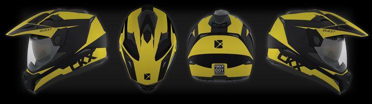 New CKX Enduro helmet graphic design