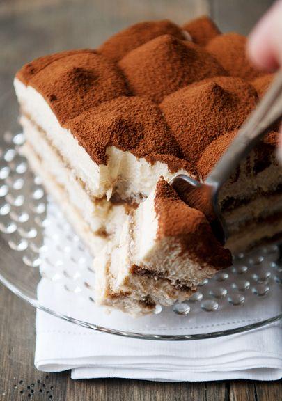Get your tiramisu fix. No baking required for this creamy, dreamy, caffeiney, boozy, elegant dessert.