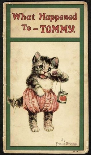 WHAT HAPPENED TO TOMMY the KITTEN CAT - 1921 - FRANCES BRUNDAGE