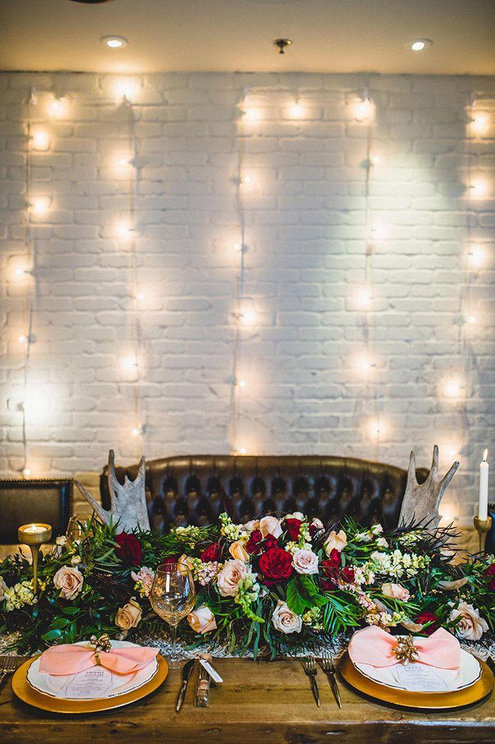 Gorgeous boho glam wedding inspiration