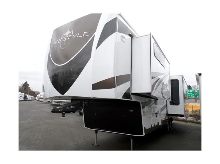 Get most affordable deals on Cheap Used 2014 ‪#‎Lifestyl_‬ luxury 34SB ‪#‎Fifth_wheel‬ by Camping World RV Sales of Portland for $59988 in Wood Village, OR, USA. This used Lifestyle luxury 34SB Fifth wheel equipped with 2 Recliner Chairs, 3 Slide Outs, Convection/Microwave Oven, Free Standing Dinette, Full Rear Wardrobe, Grab Handle, Keyless Entry Door, Leather Sofa Sleeper, Patio Awning, Rear Bath/Shower. It's really comfortable for family tours. View more information at…