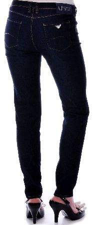 Armani Jeans Womens J28 Slim Fit Jeans Armani Jeans Womens J28 Slim Fit Jeans features a medium waist and a super skinny leg front button and zip fly fastening with contrast stitching belt loops front pockets and branded button with a eagl http://www.comparestoreprices.co.uk/designer-clothing/armani-jeans-womens-j28-slim-fit-jeans.asp