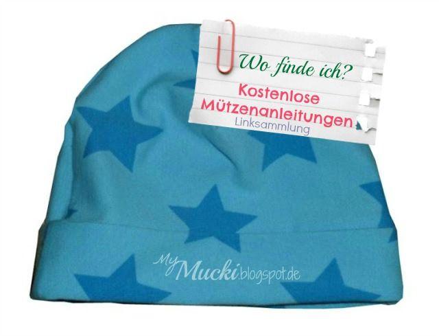 Kostenlose Mützenanleitung gesucht? Mützen - Freebook Sammlung (Sommerhut, Baby Bonnet, Jerseymütze, Beanie...)