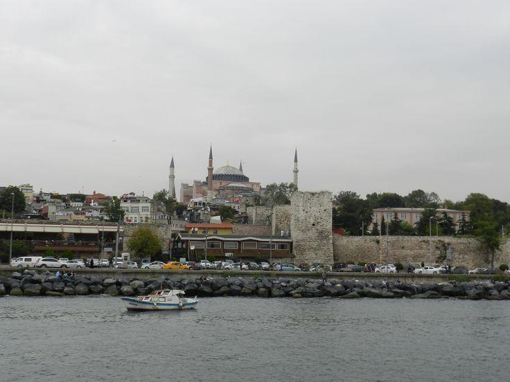 Hagia Sophia from The Bosporus