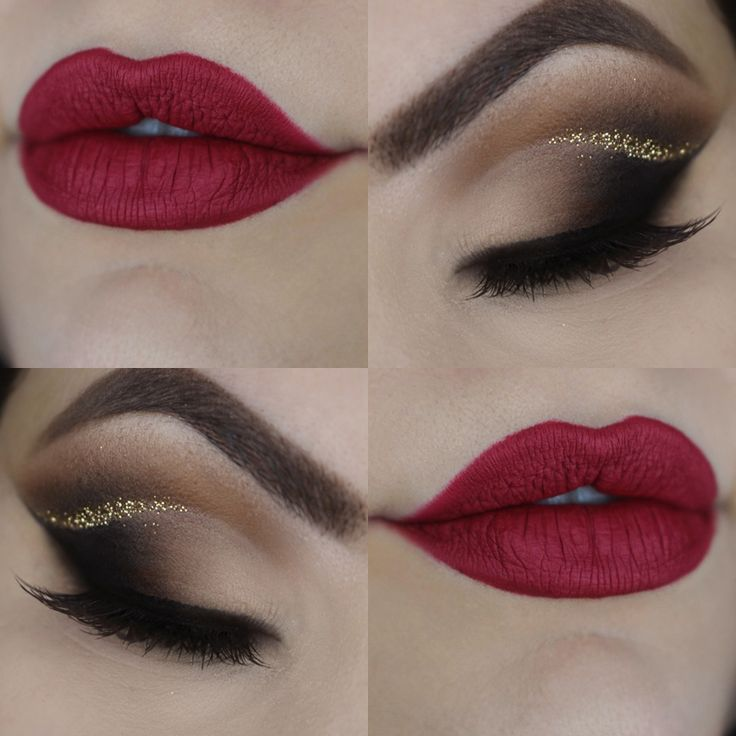 Christmas Makeup https://www.youtube.com/watch?v=yCPCkKXY50k