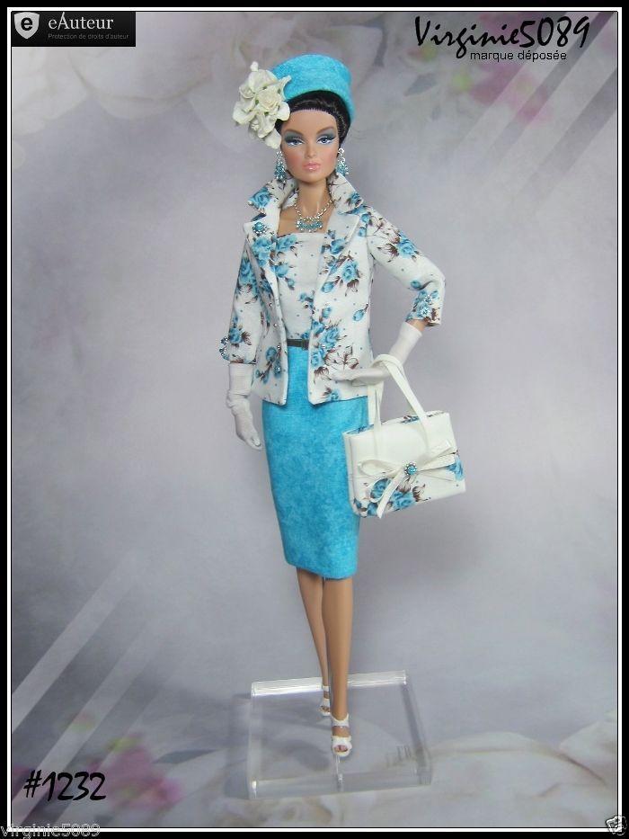 Tenue Outfit Accessoires Pour Fashion Royalty Barbie Silkstone Vintage 1232   eBay
