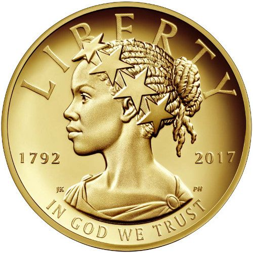2017-W 1 oz High Relief 225th Anniversary American Liberty Gold Coin from JM Bullion™