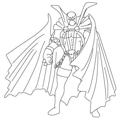 Comment dessiner Spawn - http://www.dessein-de-dessin.com/comment-dessiner-spawn/