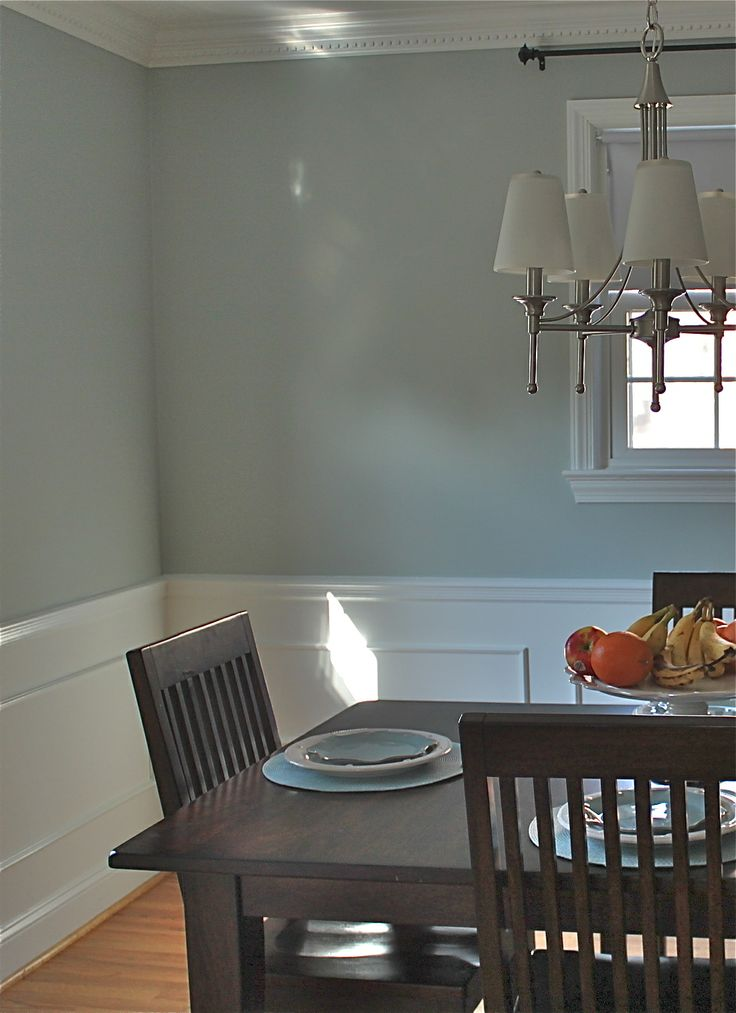 Benjamin Moore Tranquility House Interior Paint Color