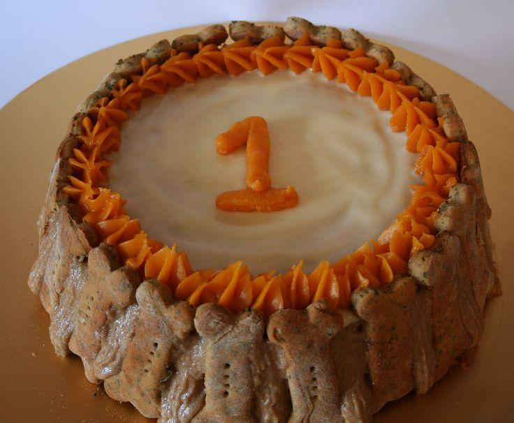 Wheat Free - round & bone cake