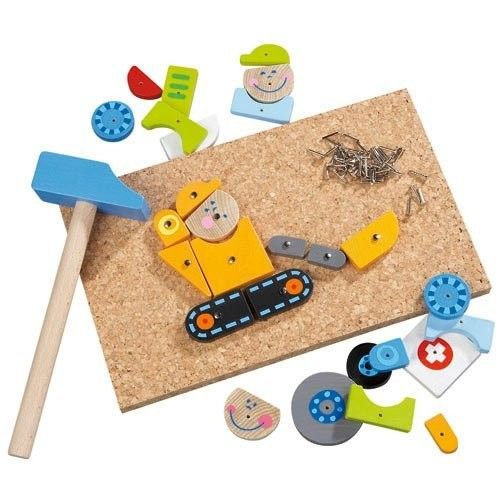 Haba - On Duty Tack Zap Hammer Activity Set - perfect for my little builder and great for fine motor skills #EntropyWishList #PintoWin