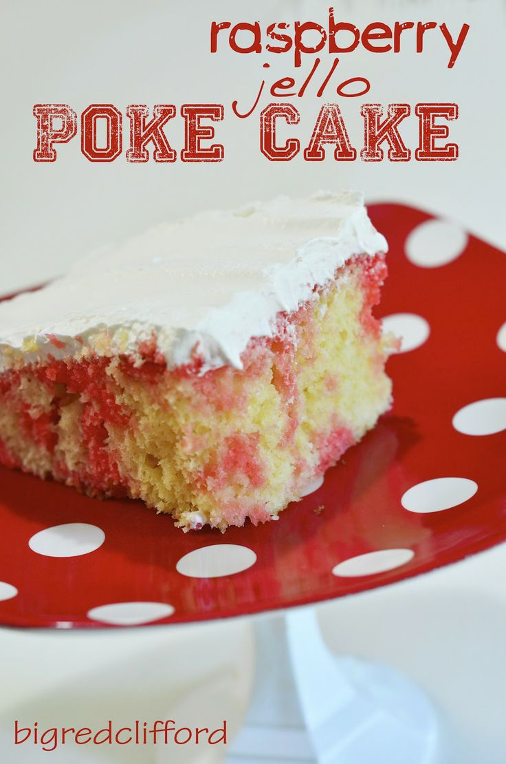 Recipes for big red cake
