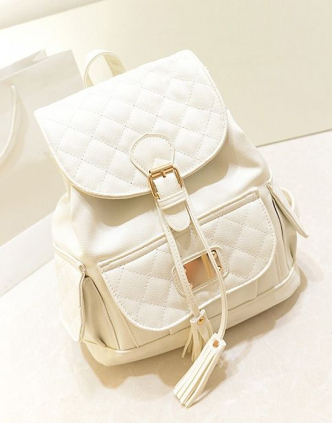 Gorgeous Tassel Design Backpack in 3 Colors