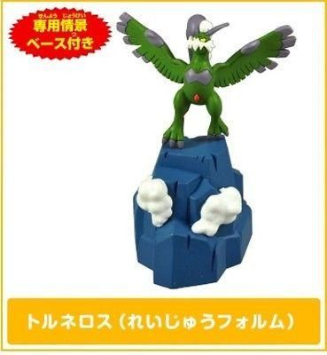 Tomy BW 04 1/40 Scale Real Rittai Pokemon Figure Zukan Tornadus-Therian