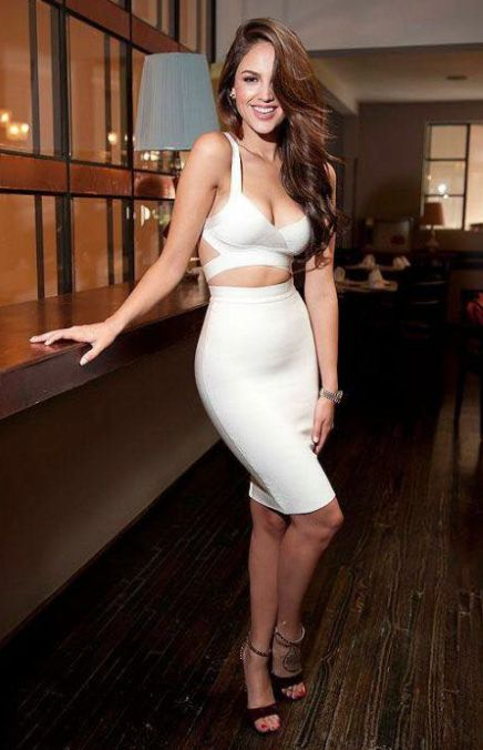 You can't go wrong with a White two piece dress.  www.toxicenvyboutique.com