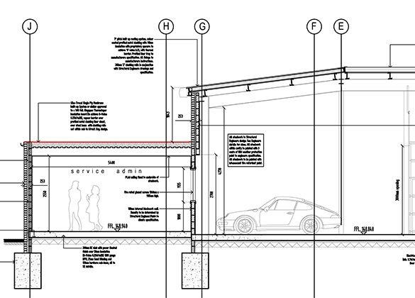 Car Showroom Plans Architecture Проекты Общественные