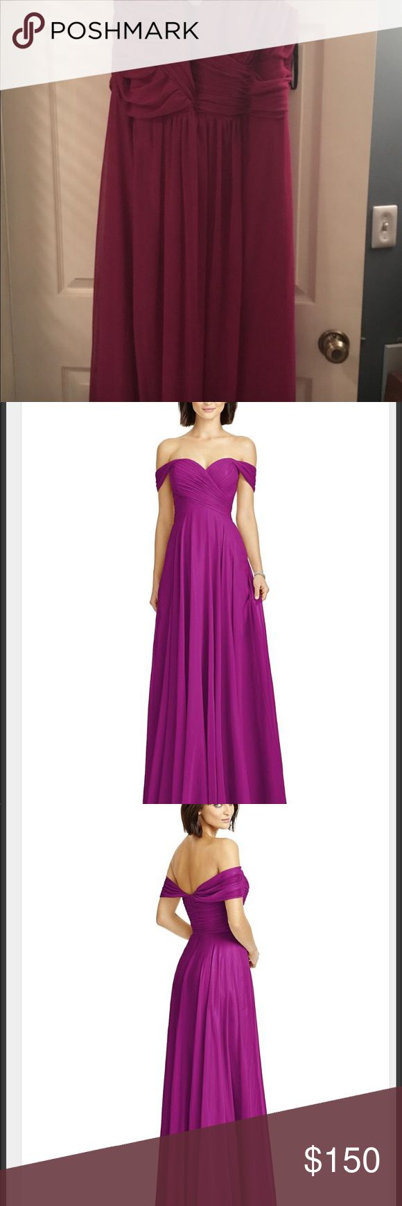 Dessy Collection Style 2970 - Persian Plum Never worn, never altered, tags not removed. Size 22. Dresses Wedding
