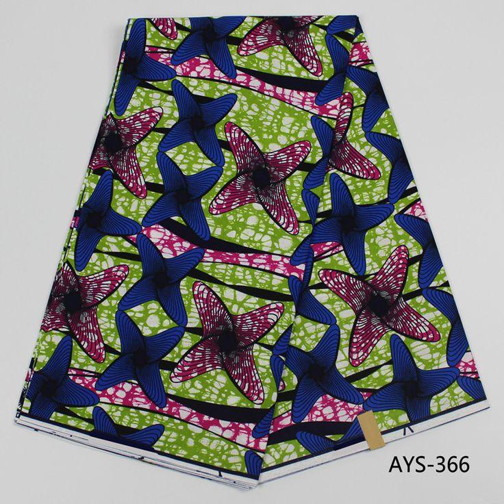 Holland super wax fabric African wax print cotton fabric Ankara wax fabric for making dress AYS #Affiliate