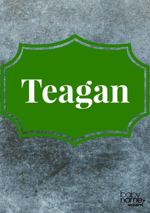 Teagan: Coming from the Irish gaelic male name Teague, this name transformed into a fashionable choice for girls. It's been near the 250 mark for about six years, proving that Teagan is has a charming image and some reliable staying power. Celtic Baby Names
