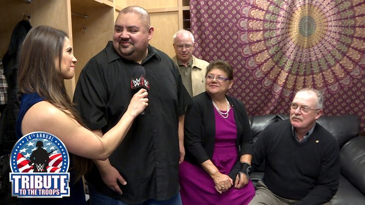 For Gabriel Iglesias, WWE Tribute to the Troops is all about family: Exc...