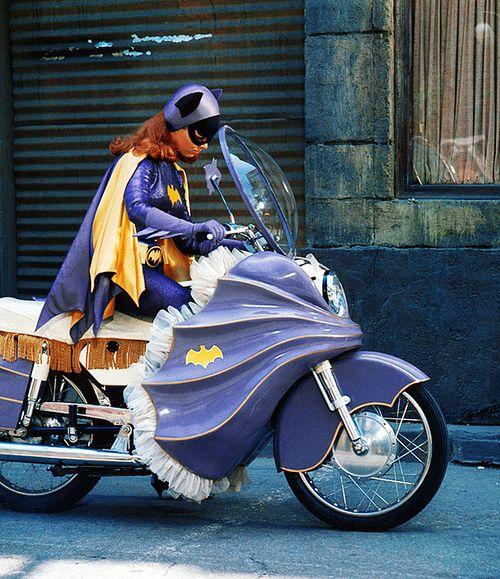 Yvonne Craig as Batgirl, on the Batman TV show c. 1960s