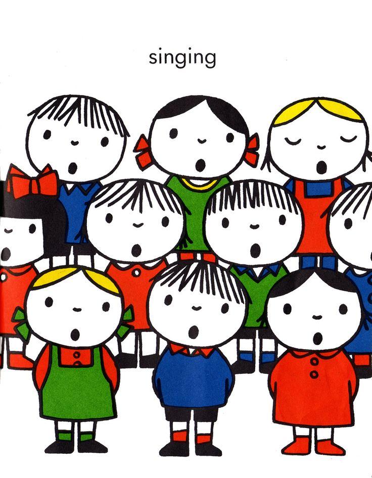 All sizes | Dick Bruna: Singing | Flickr - Photo Sharing!