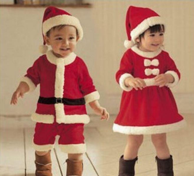 Natal: Idéias de Roupas Para Bebês e Crianças 01