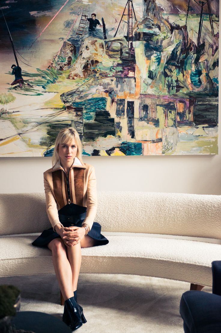 """""""'I can't live without my IPhone, my medals and lipstick!"""" http://www.thecoveteur.com/anne-sophie-mignaux/"""