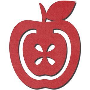 Silhouette Design Store: bookmark - apple