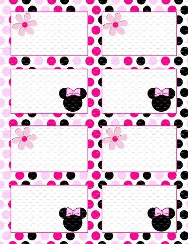 Minnie Mouse Birthday 35x25 Flat