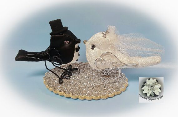 Love Birds Cake Topper Fairytale Inspired by TouchOfEleganceByDel