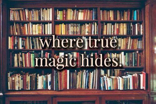#OctoberFavorite: In stacks of books...where true magic hides.