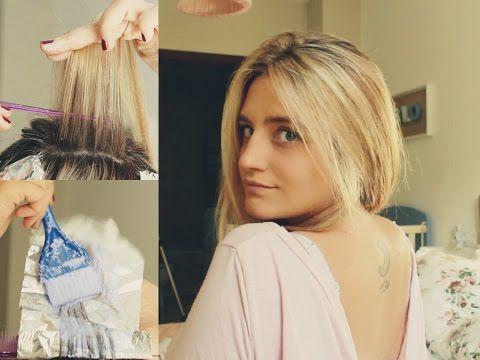 Cómo matizo mi pelo en casa ♡ Acabar con el rubio pollo | Sara Bruno - YouTube