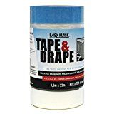 Trimaco 24-Inch by 72-Feet Tapen Drape Pre-Taped Mask Film 94946