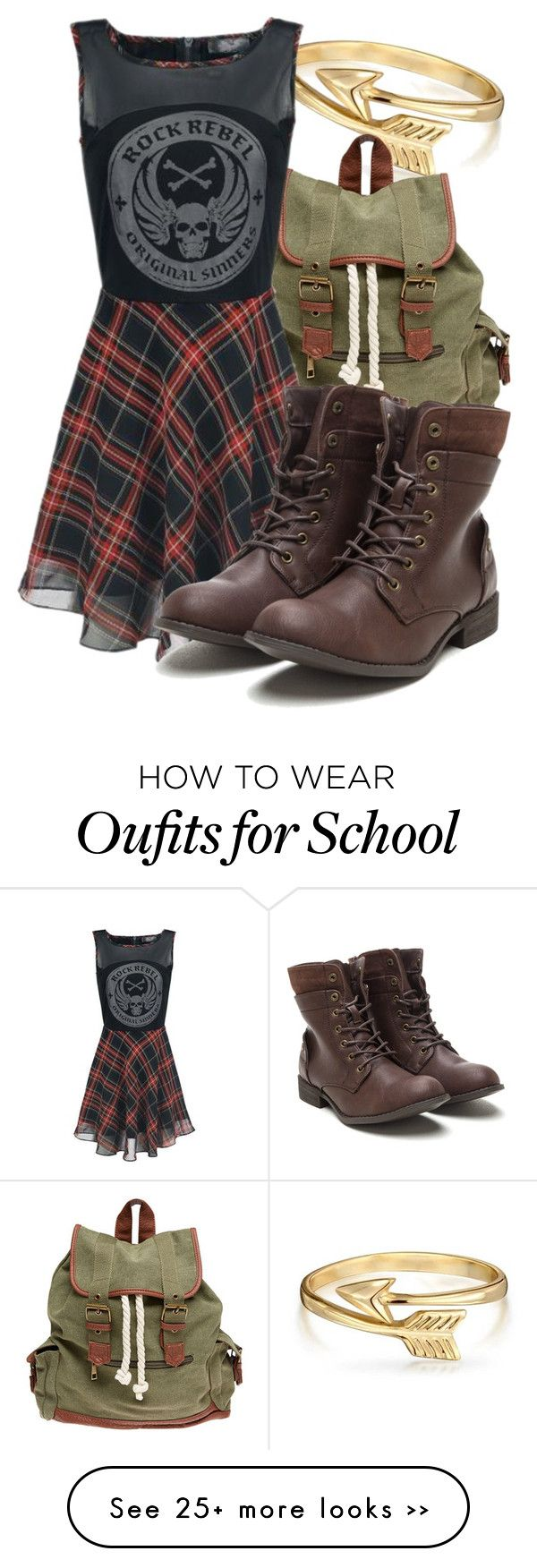 """Merida back to school"" by dressing-like-disney on Polyvore featuring mode, Bling Jewelry et Wet Seal"