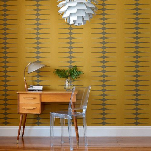 Do The Stretch wallpaper from Graham & Brown.