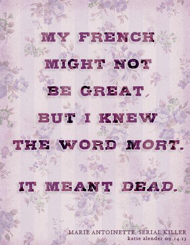 33 best images about Marie Antoinette, Serial Killer on Pinterest