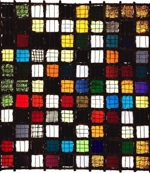 Josef Albers, 1922 (stained glass)●ステンドグラスだがシンプルだと思った。