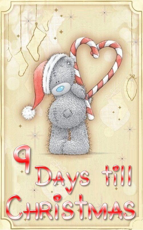 9 days till Christmas ♥
