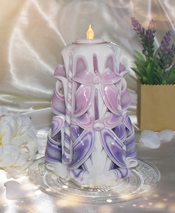 Hand craft candle, elegant ,everlasting candle, use for all  events, great deco. 20cm $45